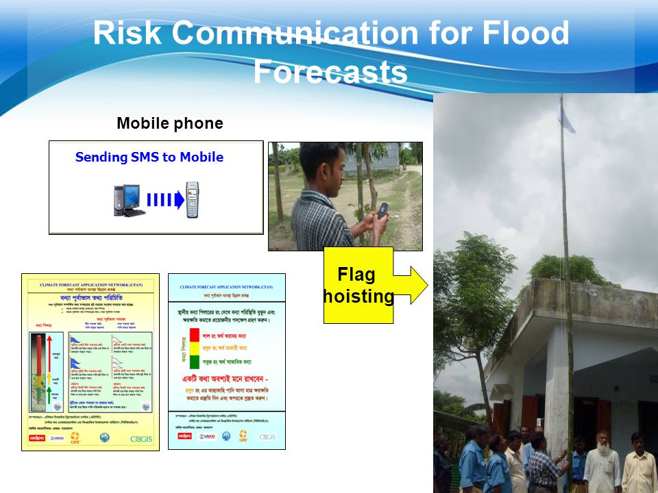 Risk Communication for Flood Forecasts