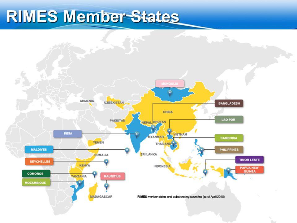 RIMES Member States