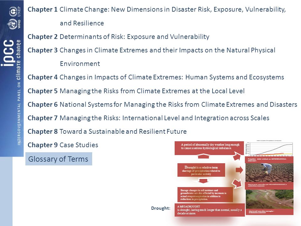 Chapter 1 Climate Change: New Dimensions in Disaster Risk, Exposure, Vulnerability, and Resilience