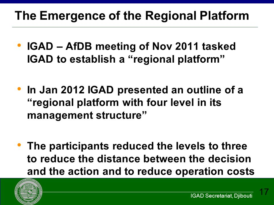 The Emergence of the Regional Platform