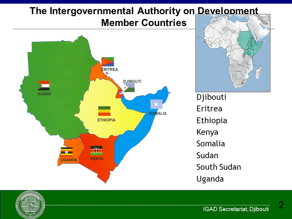 The Intergovernmental Authority on Development Member Countries