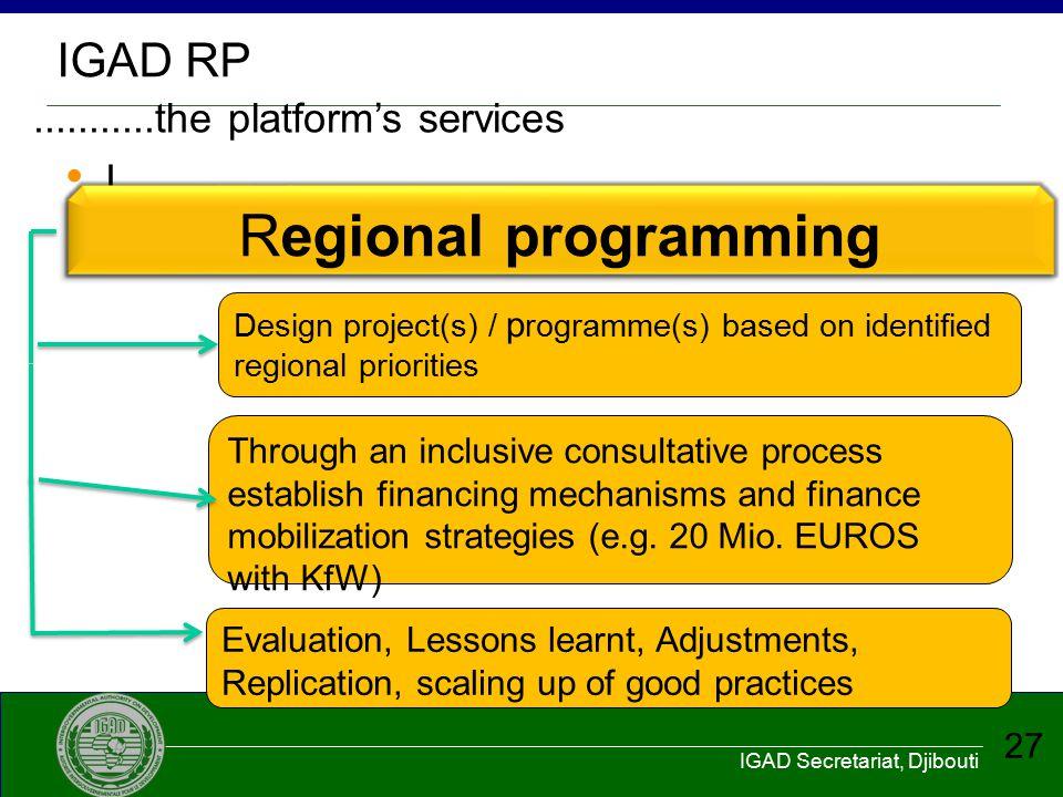 ...........the platform's services