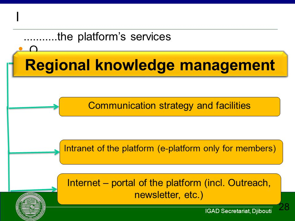 Regional knowledge management