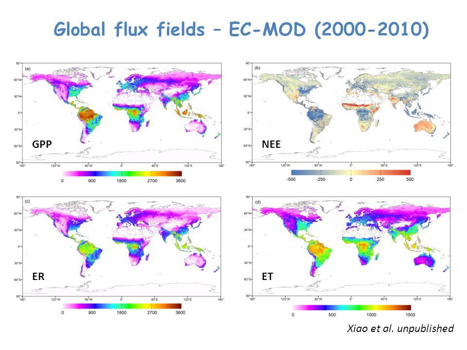 Global flux fields – EC-MOD (2000-2010)