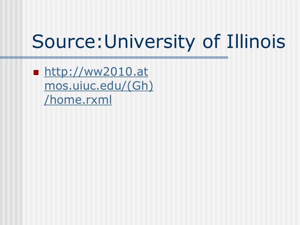 Source:University of Illinois