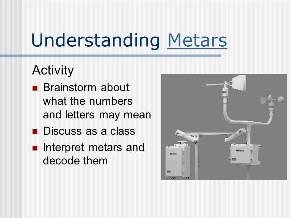 Understanding Metars Activity