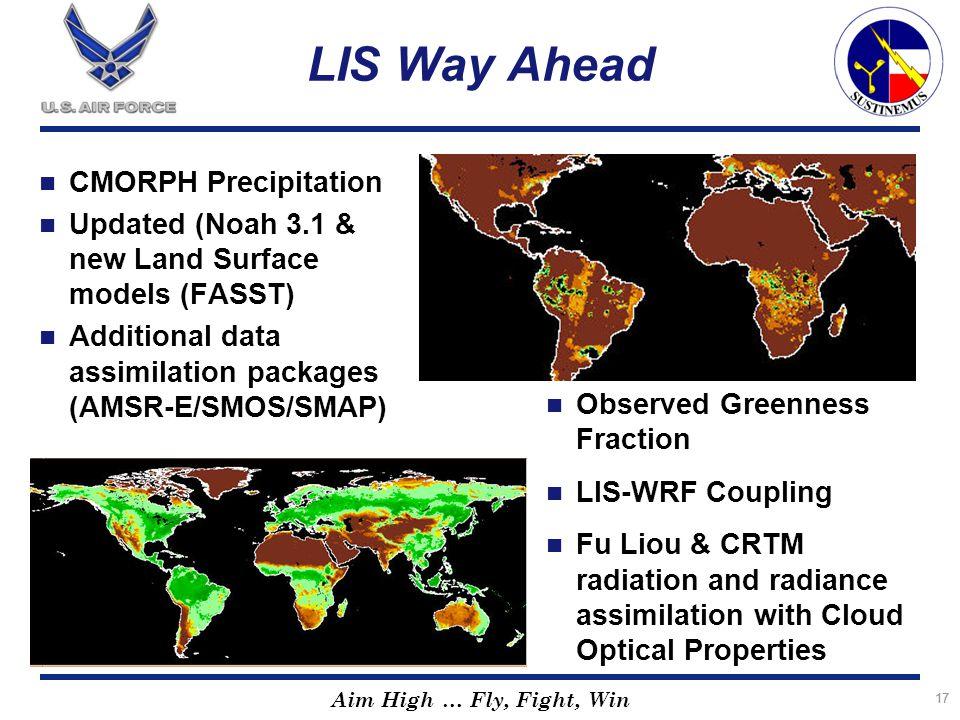 LIS Way Ahead CMORPH Precipitation