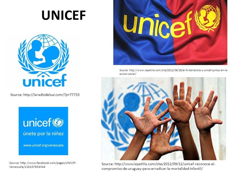 UNICEF Source: http://laradiodelsur.com/ p=77733
