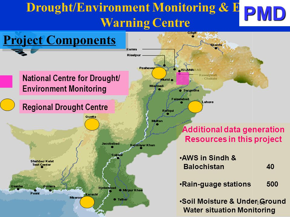 PMD Drought/Environment Monitoring & Early Warning Centre