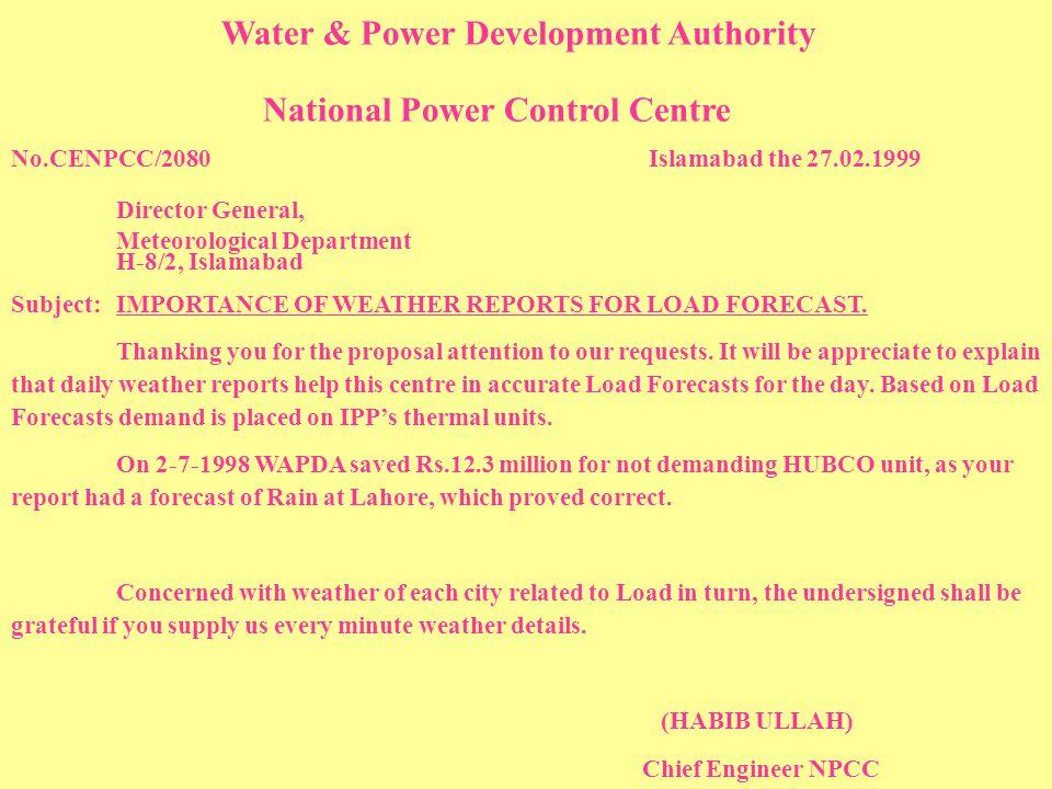 National Power Control Centre
