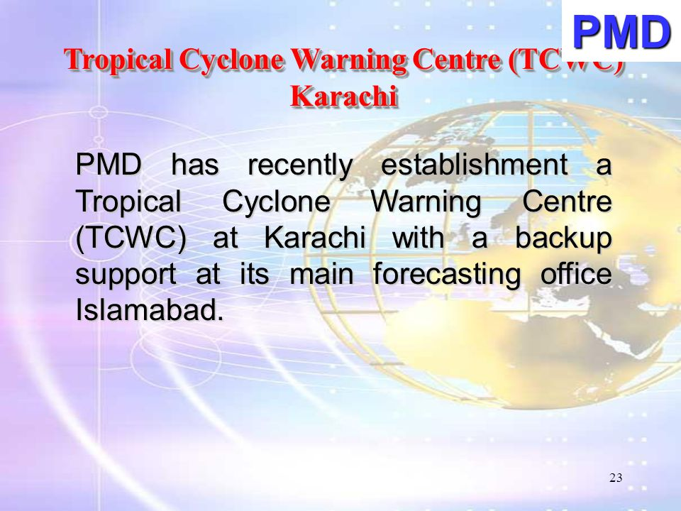 Tropical Cyclone Warning Centre (TCWC)