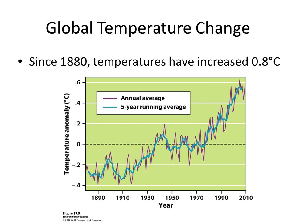 Global Temperature Change