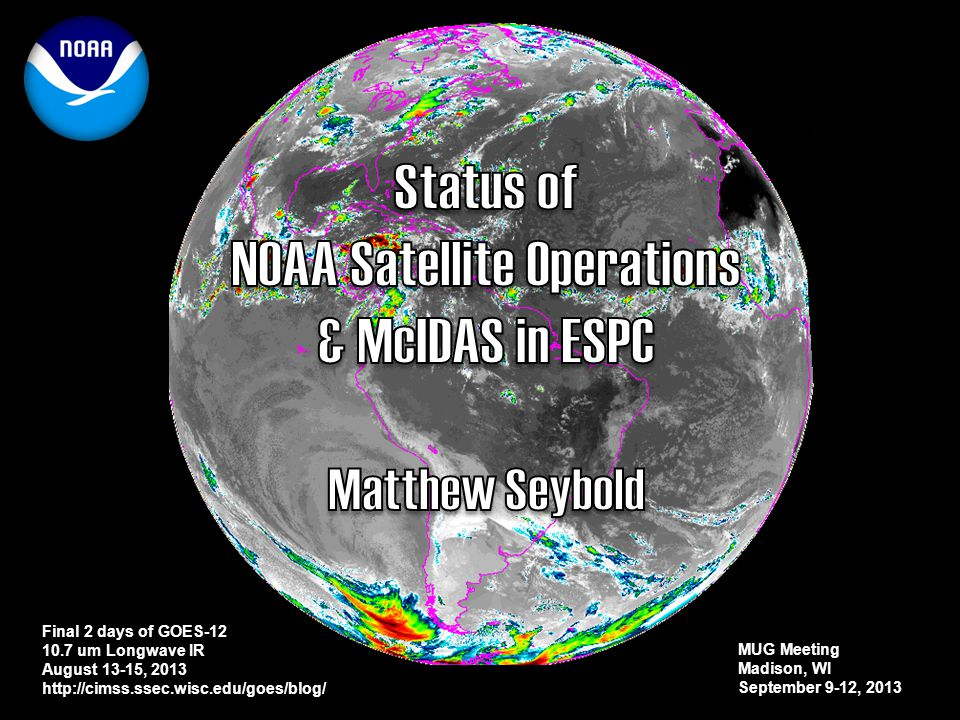 NOAA Satellite Operations