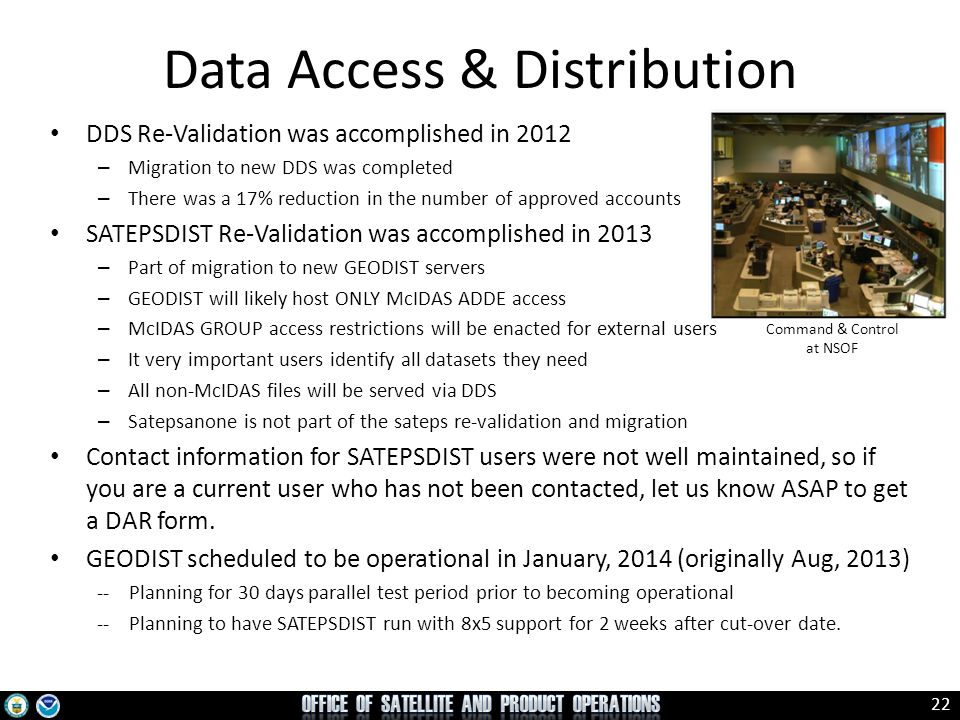 Data Access & Distribution