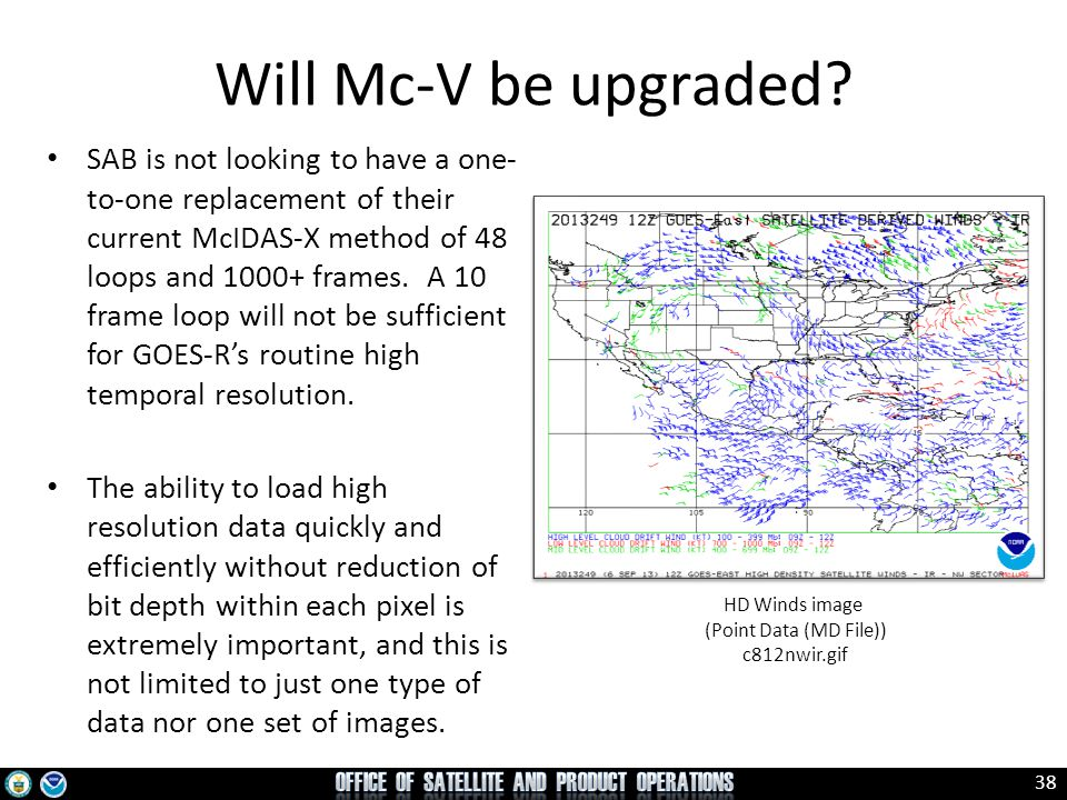 Will Mc-V be upgraded