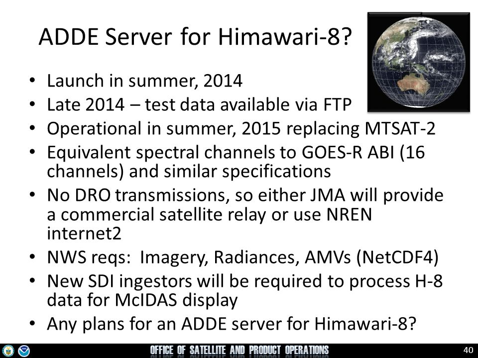 ADDE Server for Himawari-8