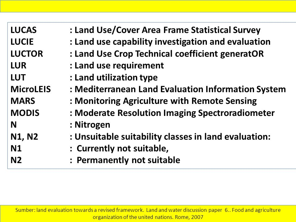 LUCAS : Land Use/Cover Area Frame Statistical Survey