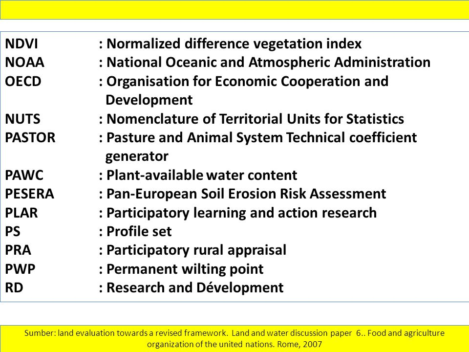 NDVI : Normalized difference vegetation index