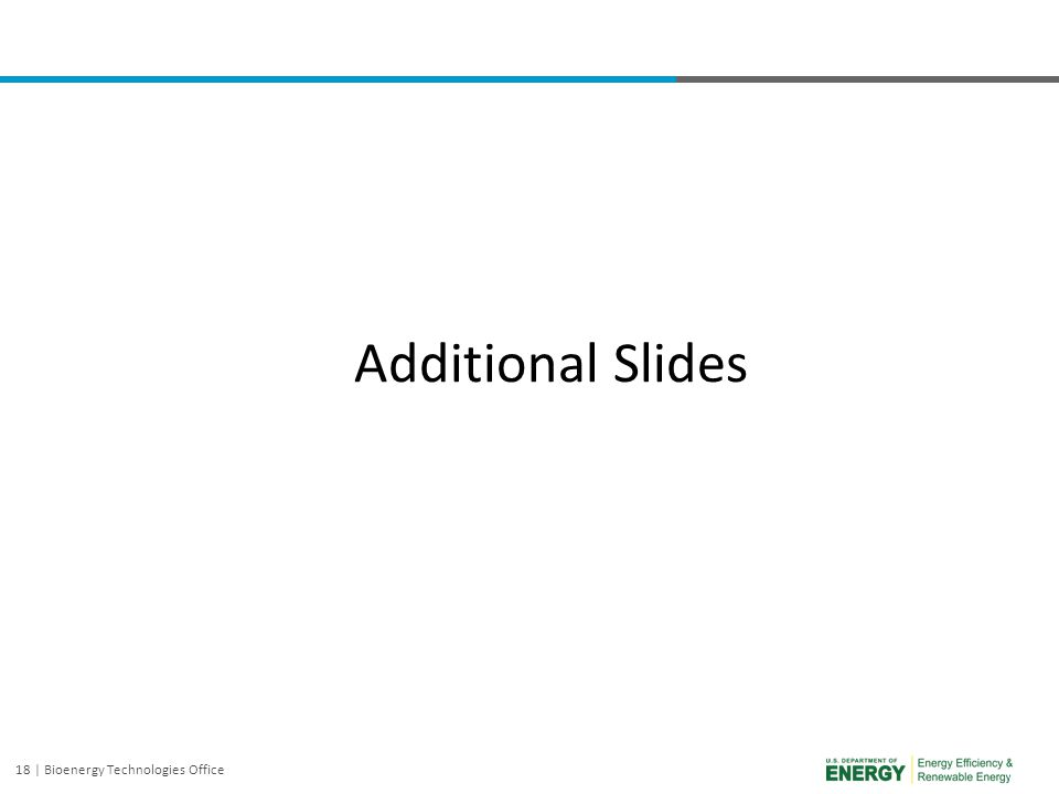 Additional Slides