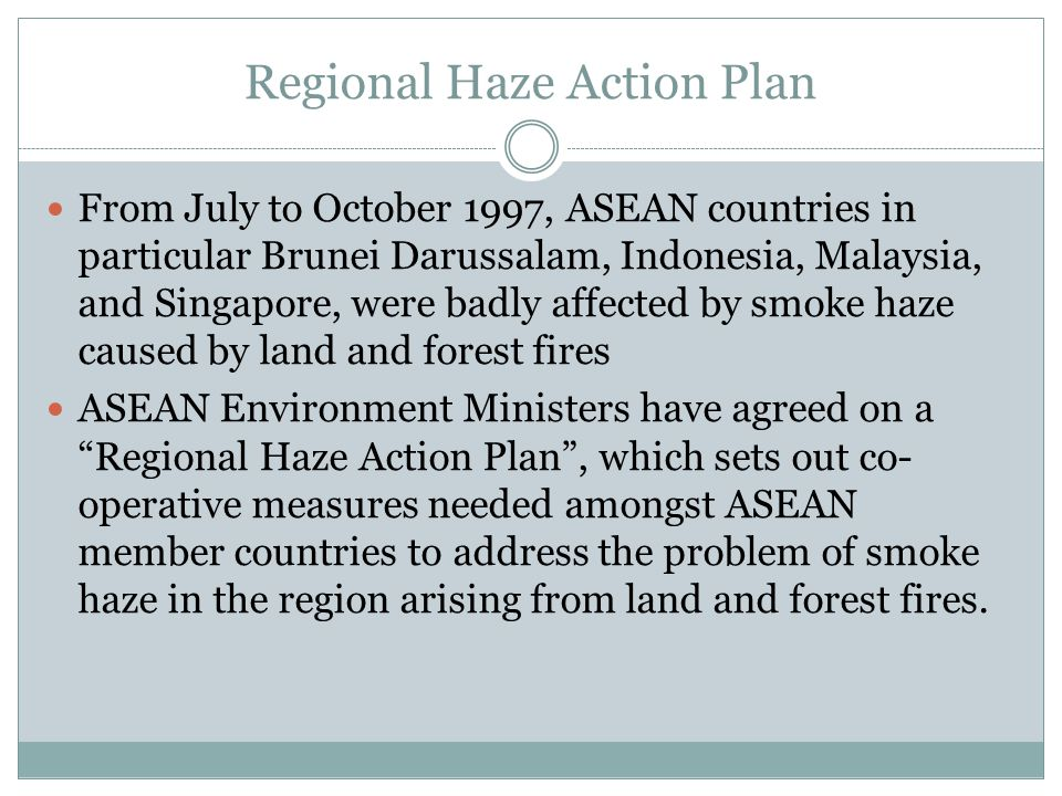 Regional Haze Action Plan