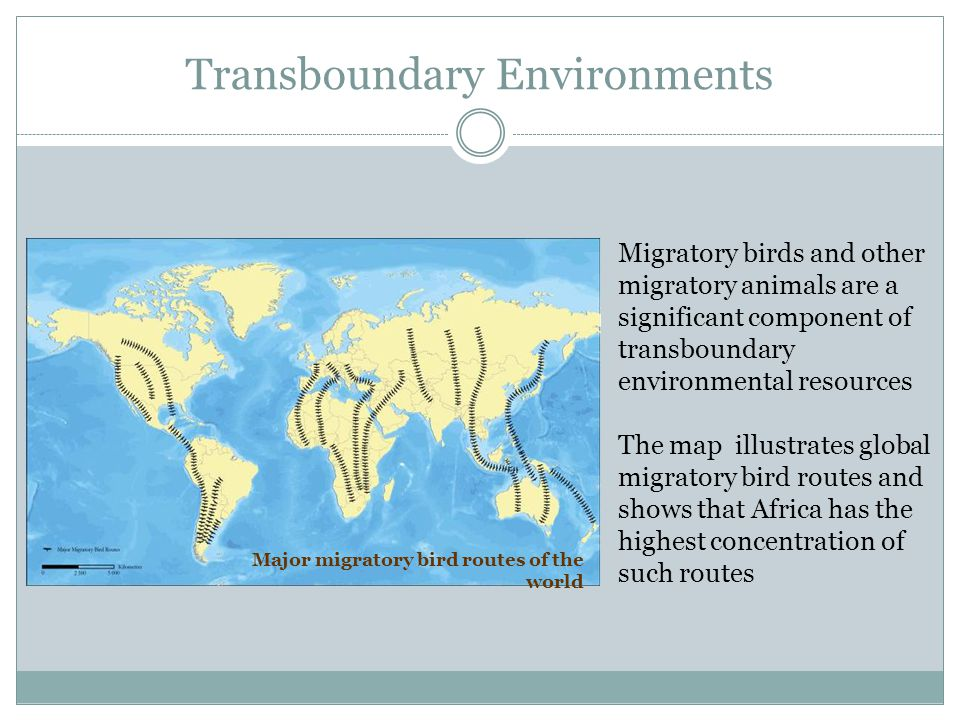 Transboundary Environments