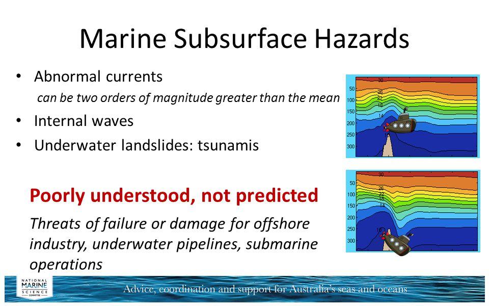 Marine Subsurface Hazards
