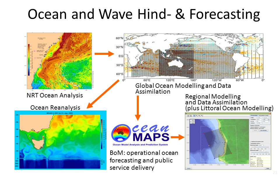 Ocean and Wave Hind- & Forecasting