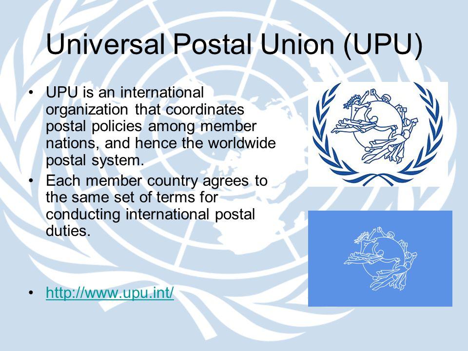 Universal Postal Union (UPU)