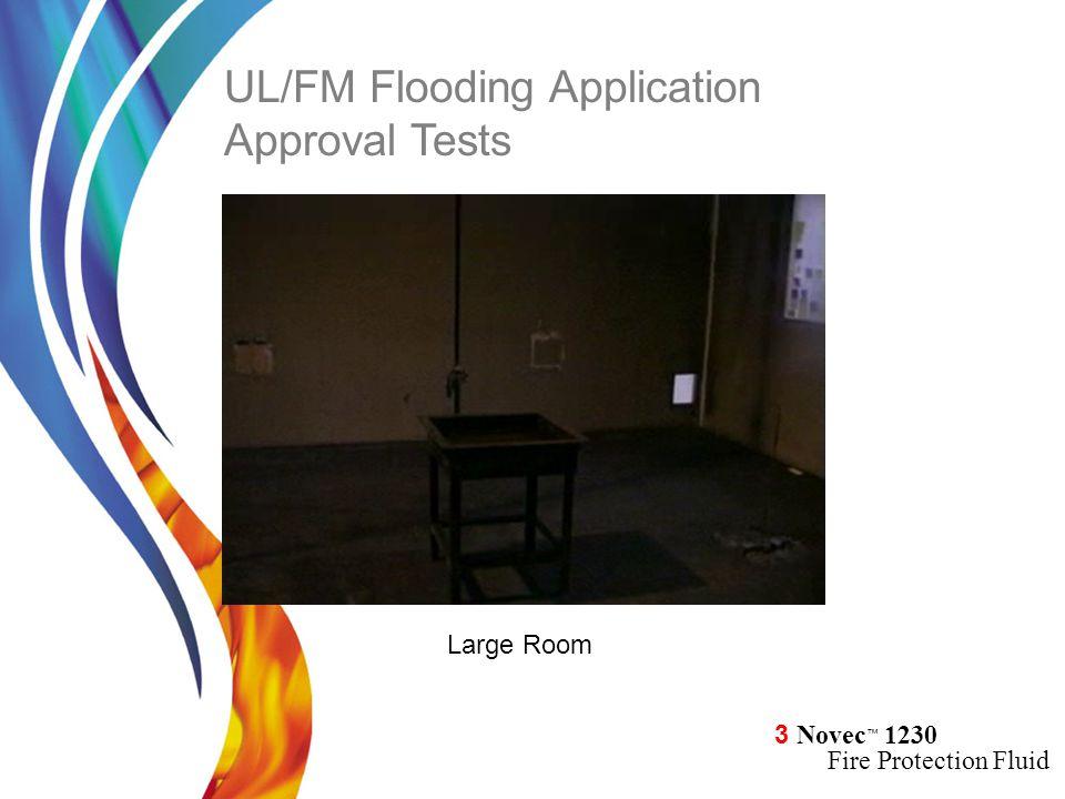 UL/FM Flooding Application Approval Tests