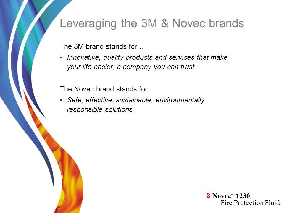 Leveraging the 3M & Novec brands