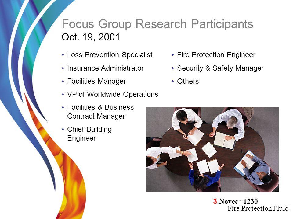 Focus Group Research Participants