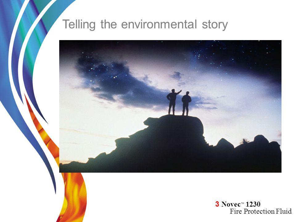 Telling the environmental story
