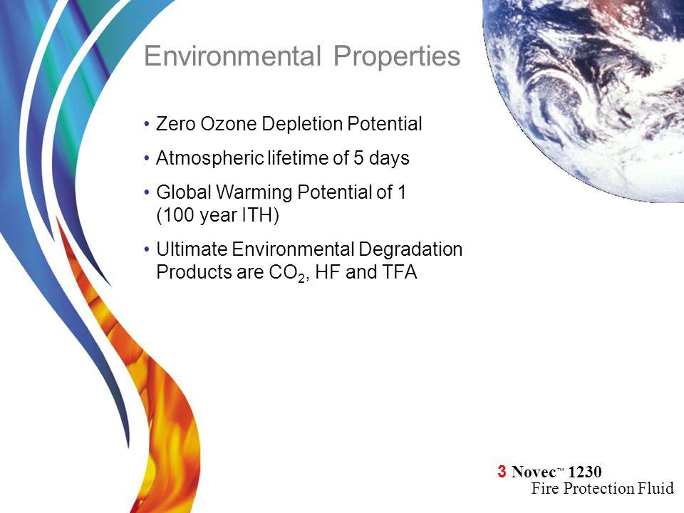 Environmental Properties