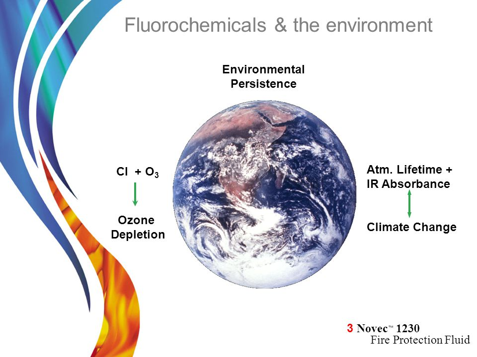 Fluorochemicals & the environment