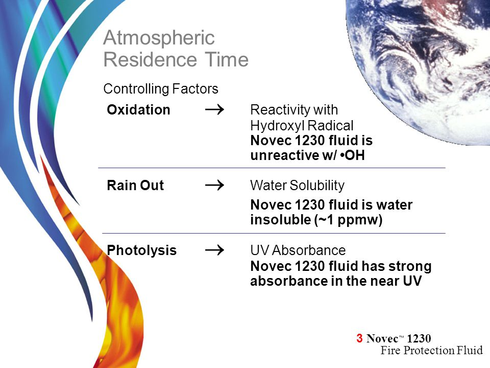 Atmospheric Residence Time