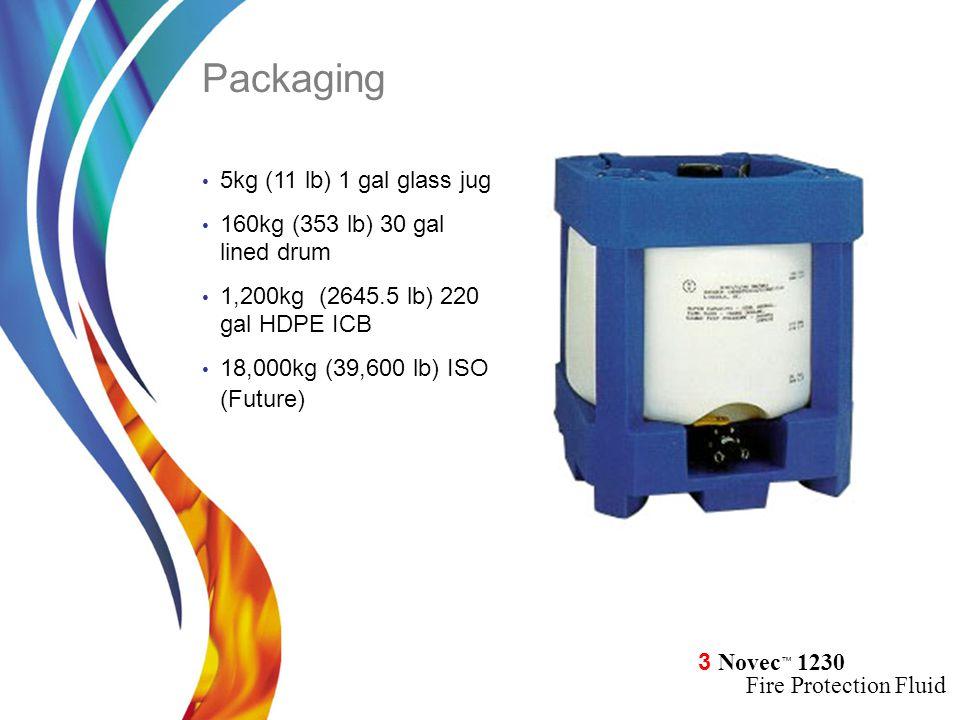 Packaging 5kg (11 lb) 1 gal glass jug 160kg (353 lb) 30 gal lined drum