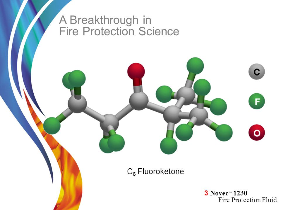 A Breakthrough in Fire Protection Science