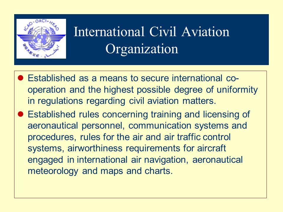 International Civil Aviation Organization