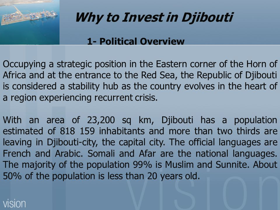 Why to Invest in Djibouti