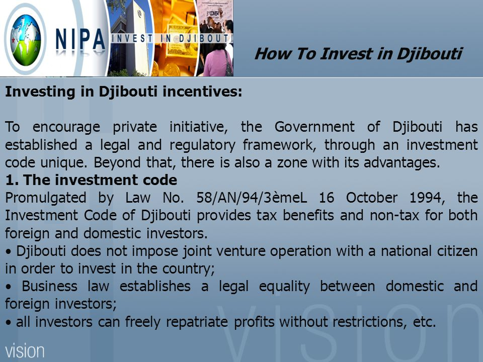 How To Invest in Djibouti