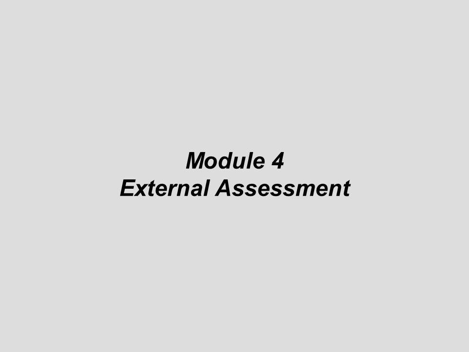 Module 4 External Assessment