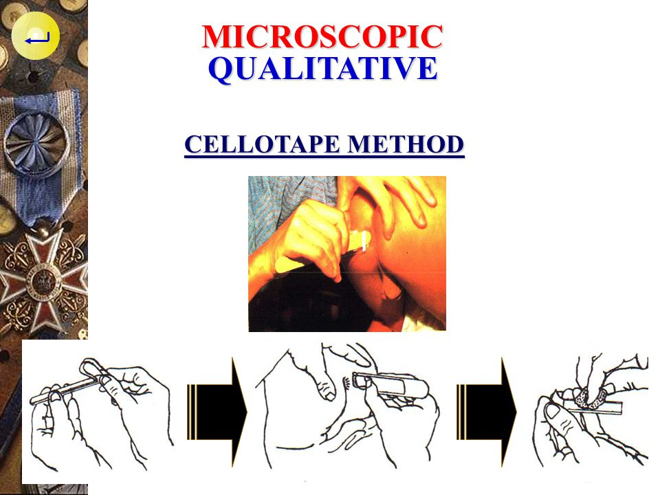 MICROSCOPIC QUALITATIVE