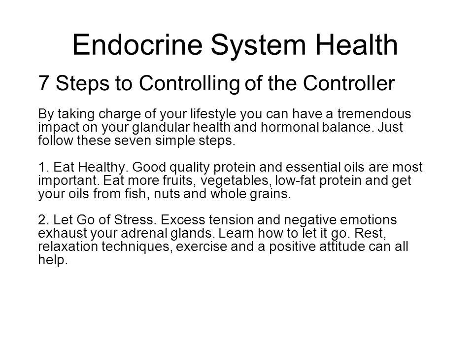 Endocrine System Health
