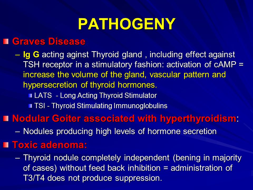 PATHOGENY Graves Disease