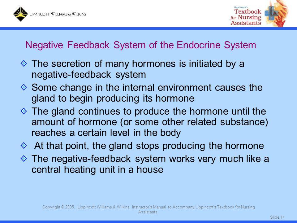 Negative Feedback System of the Endocrine System