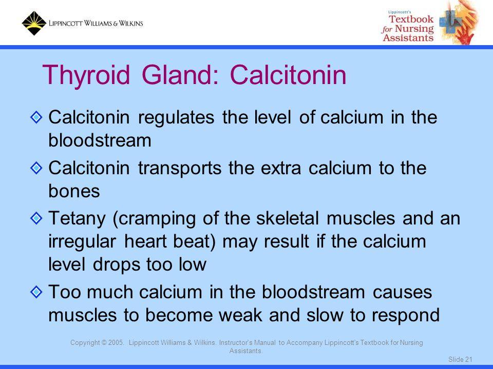 Thyroid Gland: Calcitonin