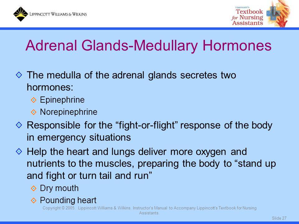Adrenal Glands-Medullary Hormones