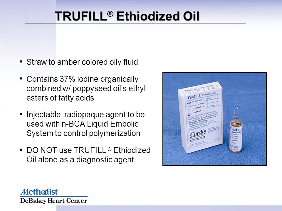 TRUFILL® Ethiodized Oil