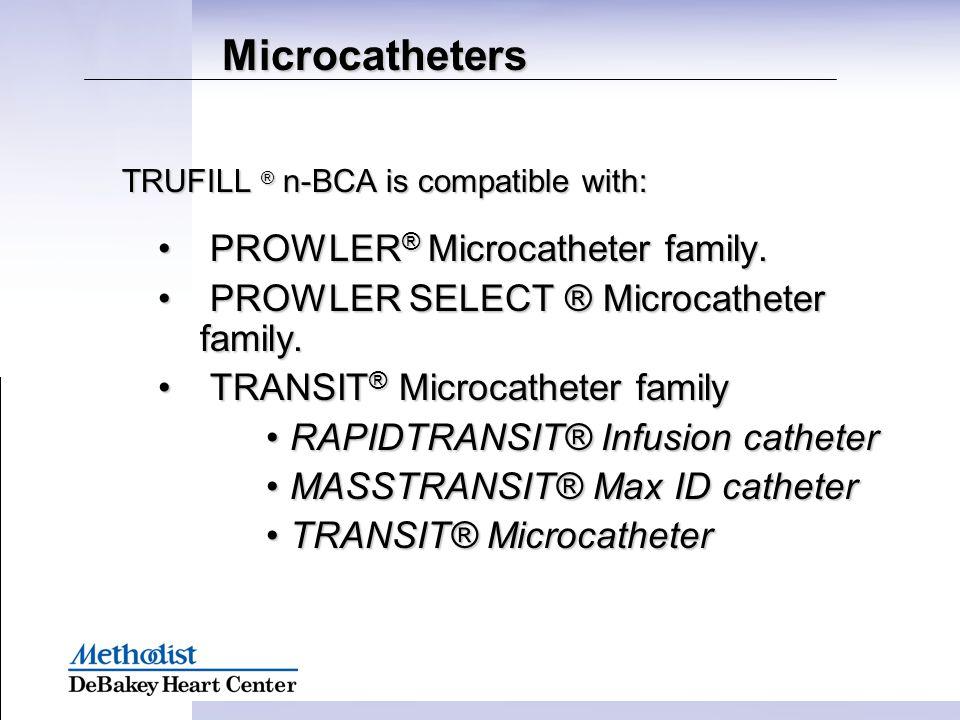 Microcatheters PROWLER® Microcatheter family.