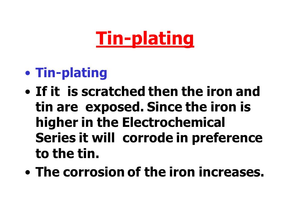 Tin-plating Tin-plating